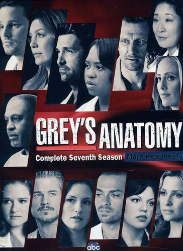 Grey's Anatomy: The Complete Seventh Season DVD