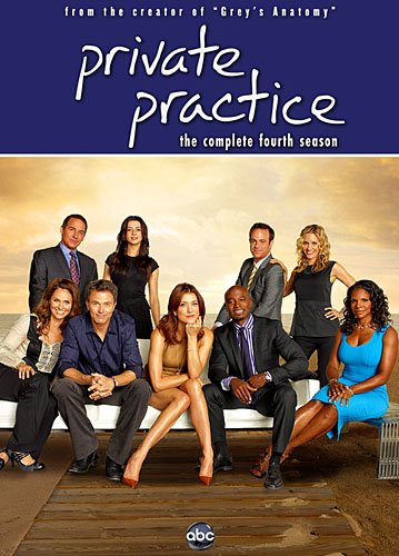 Private Practice: The Complete Fourth Season DVD