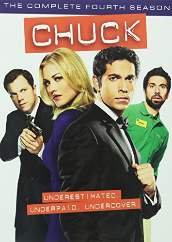 Chuck: The Complete Fourth Season DVD