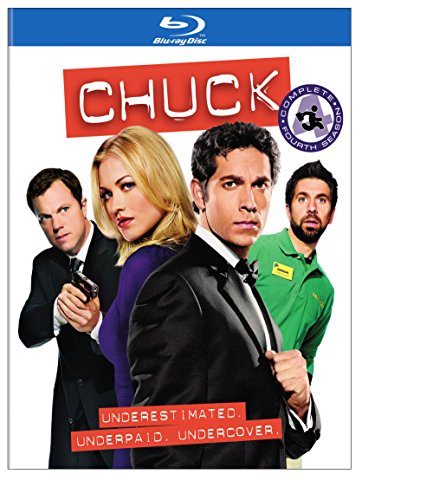 Chuck: The Complete Fourth Season [Blu-ray] DVD