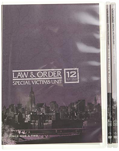 Law & Order: Special Victims Unit - The Twelfth Year DVD