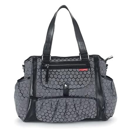 Skip Hop Studio Diaper Tote Charcoal Dot
