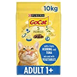 Go-Cat Dry Cat Adult Food Tuna, Herring and Vegetable, 10 kg