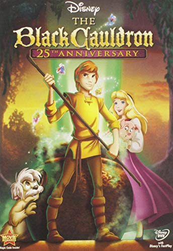 The Black Cauldron 25th Anniversary Special Edition cover