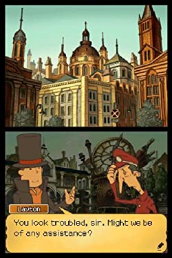 Screenshot: Professor Layton und die verlorene Zukunft