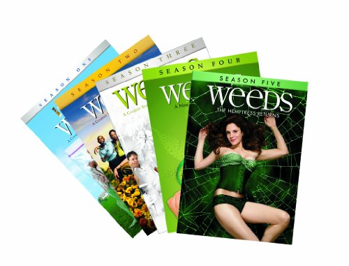 Weeds: Seasons 1-5 DVD