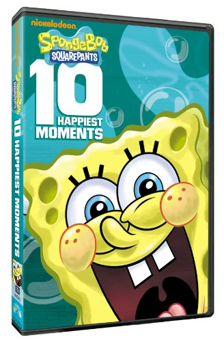 SpongeBob Squarepants: 10 Happiest Moments DVD
