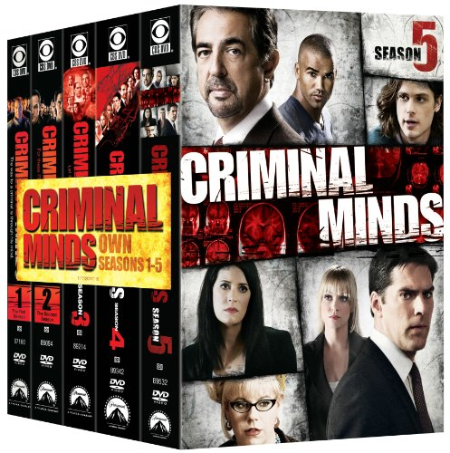 Criminal Minds: Seasons 1-5 DVD