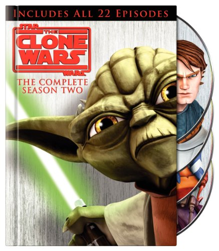 Star Wars The Clone Wars: The Complete Season Two DVD