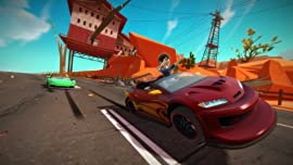 Screenshot: Kinect Joy Ride