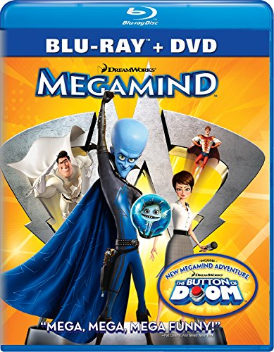 Megamind Two-Disc Blu-ray/DVD Combo