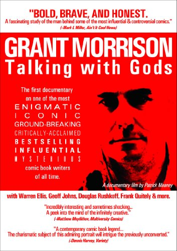 Grant Morrison Talking With Gods cover