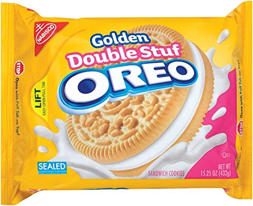 Book Double Stuff Golden Vanilla Oreo