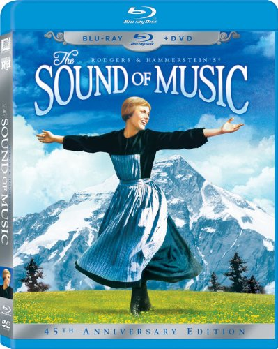 The Sound of Music Three-Disc 45th Anniversary Blu-ray/DVD Combo in Blu-ray Packaging