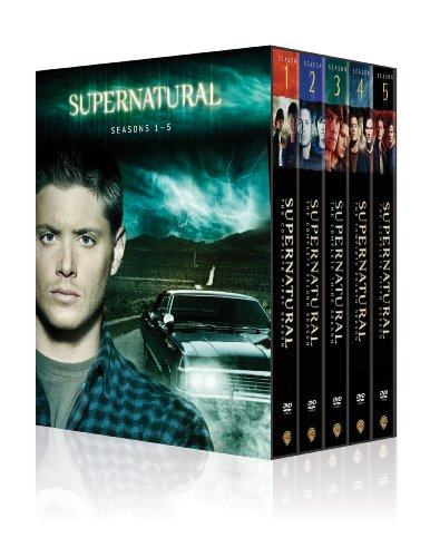 Supernatural: Seasons 1-5 DVD