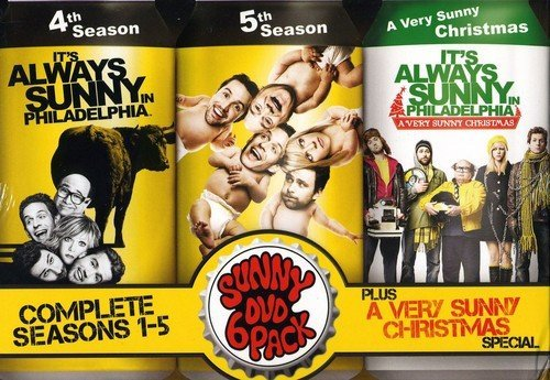 It's Always Sunny in Philadelphia: Seasons 1-5 + Christmas Special DVD