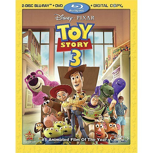 Toy Story (Blu-ray) cover