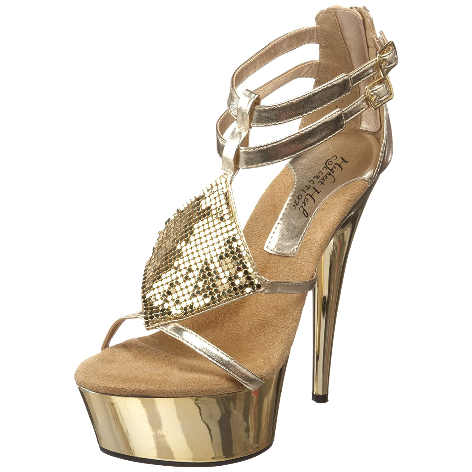 The Highest Heel - Amber-41 Platform Sandal