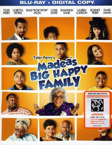 Madea's Big Happy Family [Blu-ray + Digital Copy] DVD