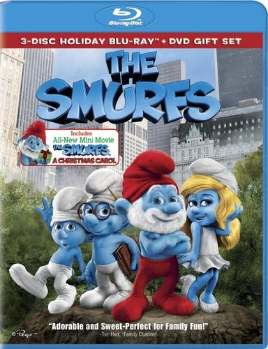 The Smurfs / The Smurfs: Christmas Carol  DVD