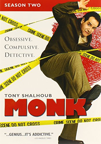 Monk: Season Two  DVD