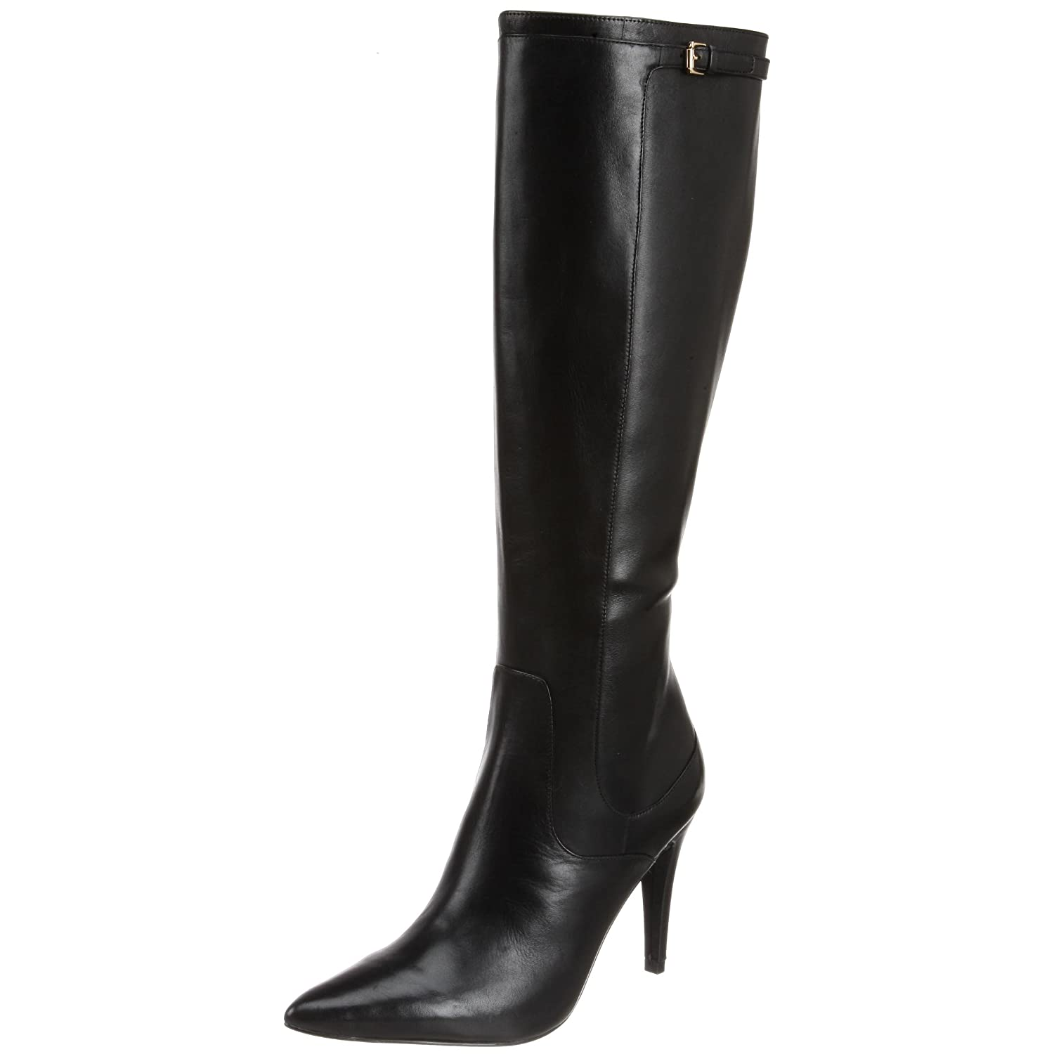 Lauren Ralph Lauren - Nicole Knee-High Boot :  knee boots boots womens shoes leather knee boots