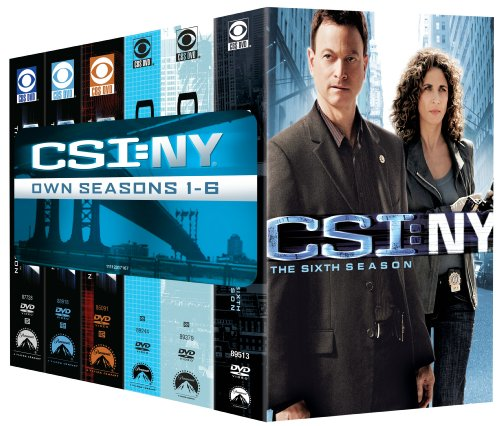 CSI: NY- Seasons One-Six DVD