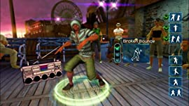 Screenshot: Dance Central