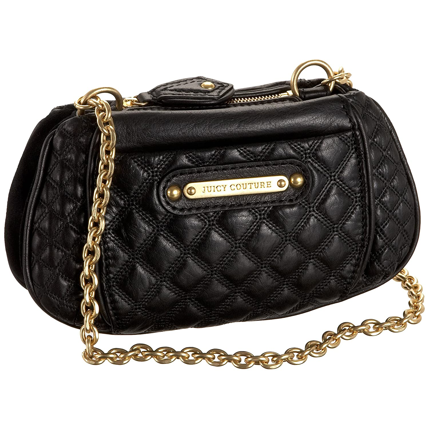 Juicy Couture Collection Quilted Leather Mini Cross-Body :  leather bag juicy couture bag quilted purse