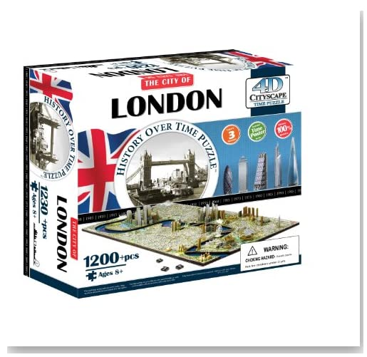 4D London Cityscape Time Puzzle