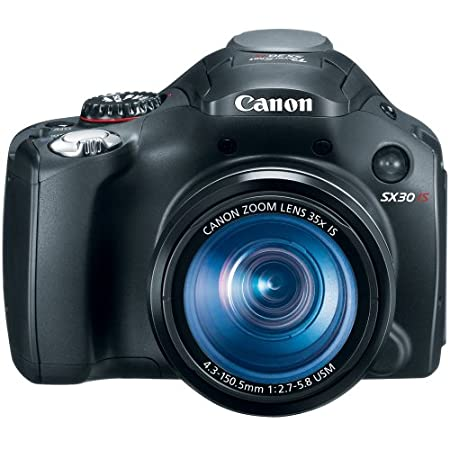 Canon Powershot Sx30is 14.5mp Digital Camera With 35x Optical Zoom -