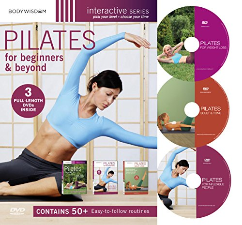Pilates For Beginners & Beyond Boxed Set Pilates for Inflexible People / Pilates Complete for Weight Loss / Pilates Complete Sculpt and Tone