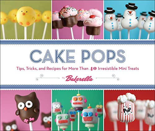Book Cake Pops Cookbook