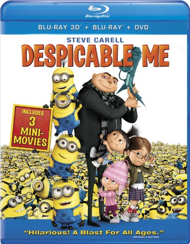 Despicable Me Four-Disc Combo: Blu-ray 3D / Blu-ray / DVD / Digital Copy