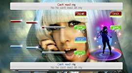Screenshot: SingStar Dance