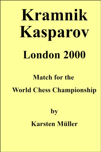 Kramnik-Kasparov, London 2000 -- Karsten Mueller -- Russell Enterprises, Inc.