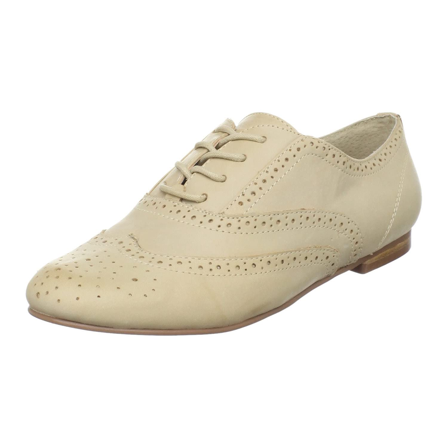 Steve Madden - Trouser Oxford :  nude oxfords nude shoes flats shoes
