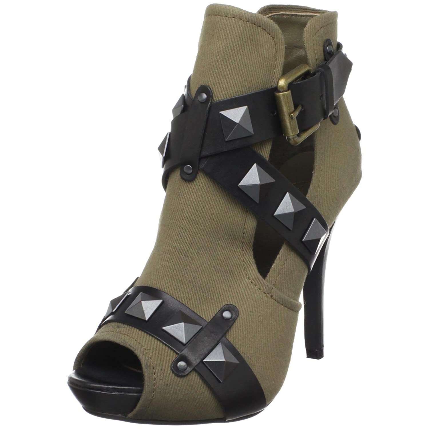 Ash - Giorgia Strappy Open-Toe Boot :  ankle boot high heels ash strappy opentoe boot