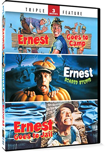 Ernest Goes to Camp / Ernest Scared Stupid / Ernest Goes to Jail Triple Feature