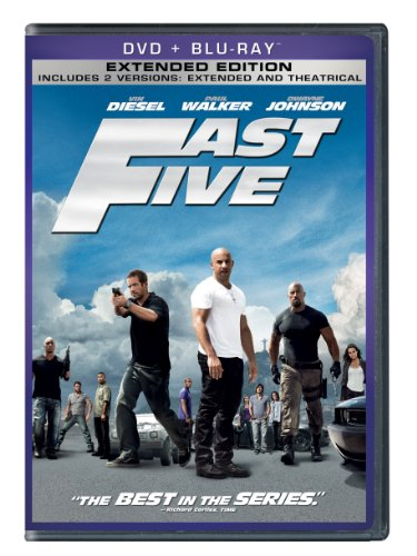 Fast Five Two-Disc DVD/Blu-ray Combo + Digital Copy in DVD Packaging