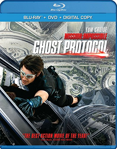 Mission: Impossible Ghost Protocol  DVD