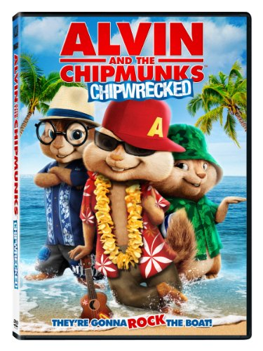 Alvin and the Chipmunks: Chipwrecked DVD