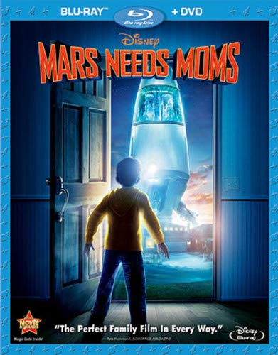 Mars Needs Moms  DVD