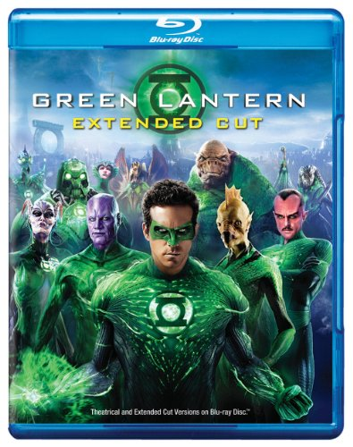 Green Lantern (Blu-ray) cover