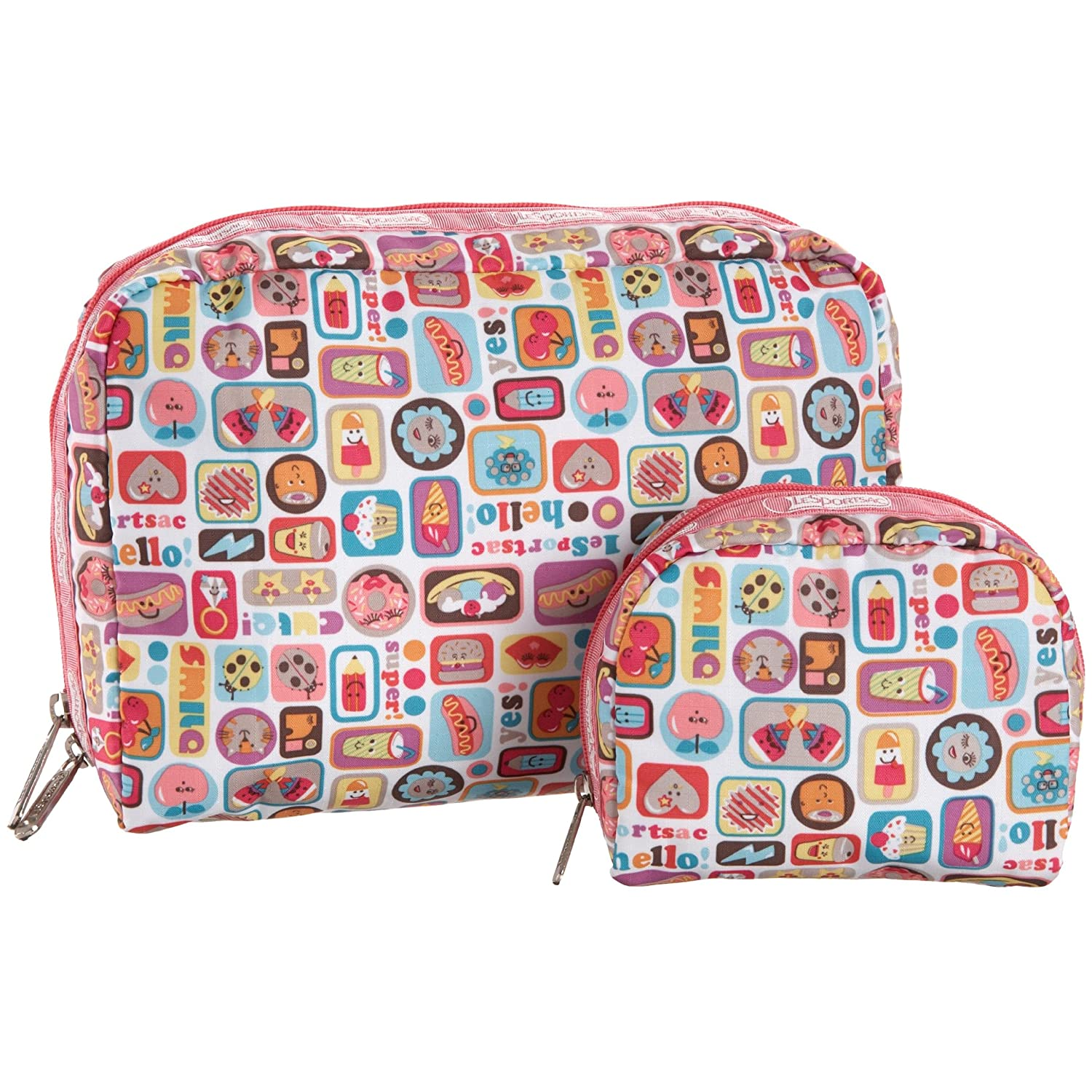 LeSportsac - Xl Rectangular And Square Cosmetic Case :  cosmetic case lesportsac xi rectangular sqaure cosmetic case makeup case lesportsac