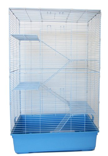 YML-5 SA3220F5 Level Indoor Animal Cage Cat Ferret, Blue