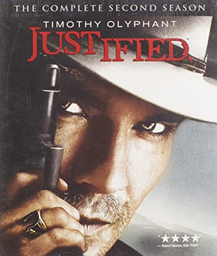 Justified: The Complete Second Season [Blu-ray] DVD