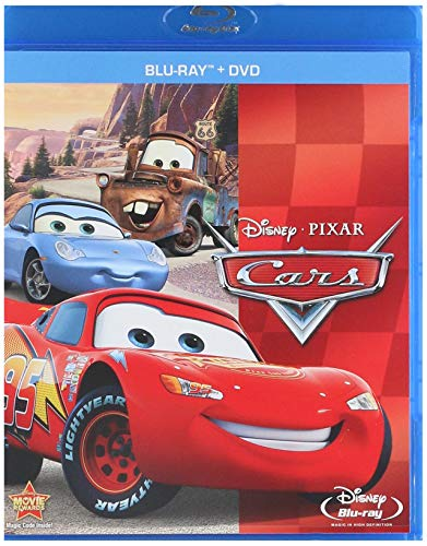 Cars Two-Disc Blu-ray/DVD Combo in Blu-ray Packaging