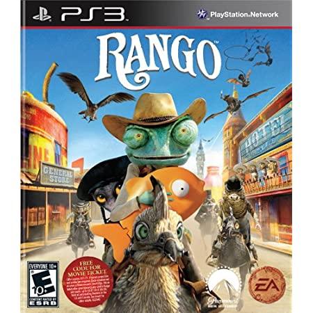 Rango: The Video Game (playstation 3)
