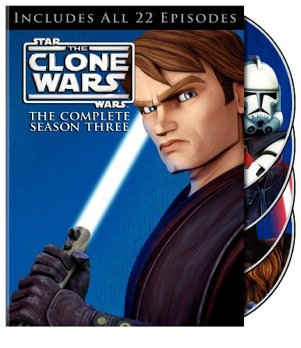 Star Wars: The Clone Wars: The Complete Season Three DVD